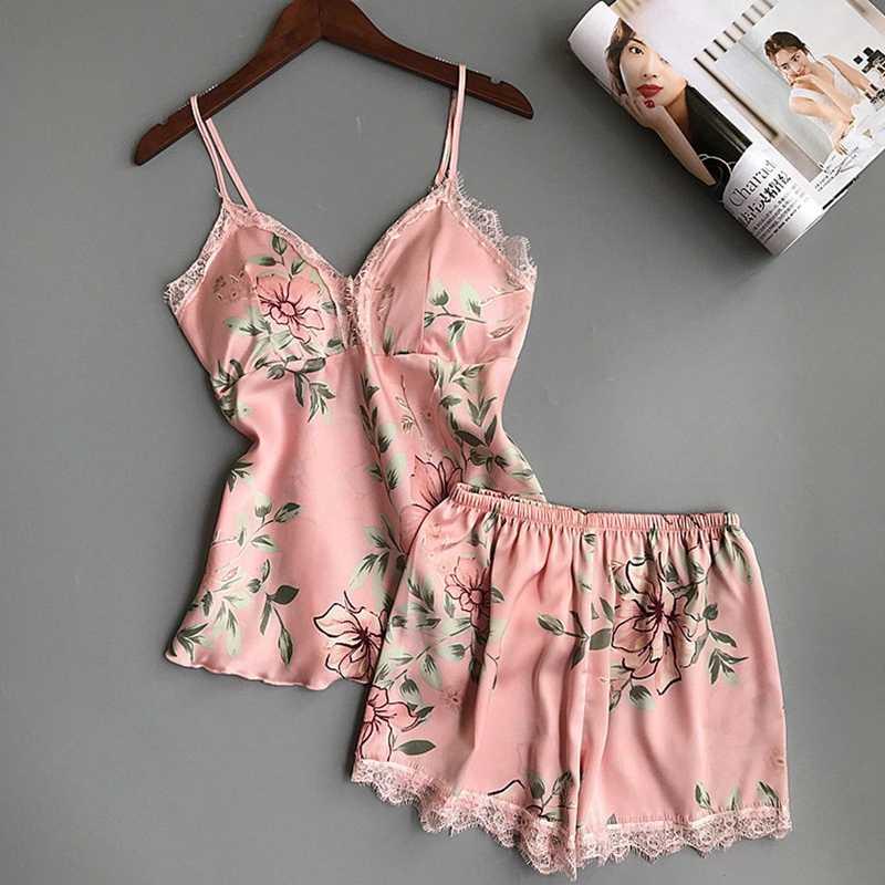 2PCS-Women-Girl-Sexy-Summer-Pajama-Sets-Shorts-Babydoll-Sleepwear-Lingerie-Silk-Satin-Lace-Nightwear-Sleepwear.jpg_q50